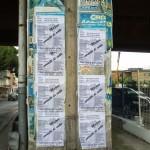 15/09/2013 16.07 Via Domenico Riccardi altezza ponte nei pressi dell'imbocco alle autostrade.