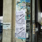 15/09/2013 16.08 Via Domenico Riccardi altezza ponte nei pressi dell'imbocco alle autostrade.
