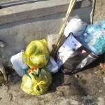 28/09/2013 ore 15.50 Via Domenico Riccardi in prossimità del cavalcavia altezza civico 240