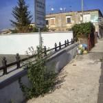 28/09/2013 ore 15.51 Via Domenico Riccardi in prossimità del cavalcavia altezza civico 240