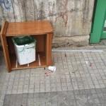 29/09/2013 ore 13.09 Via Aldo Moro davanti all'isola ecologica