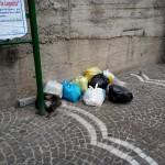 27/10/2013 ore 13.18 Viale Gandhi in prossimità dell'incrocio con Via Domenico Riccardi
