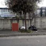 27/10/2013 ore 13.31 Viale Marconi altezza parcheggio comunale